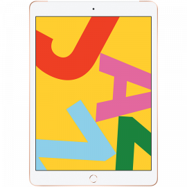 Apple 10.2-inch iPad 7 Cellular 32GB Gold (Retina Display LED‑backlit Multi‑Touch display 2160-by-1620 resolution at