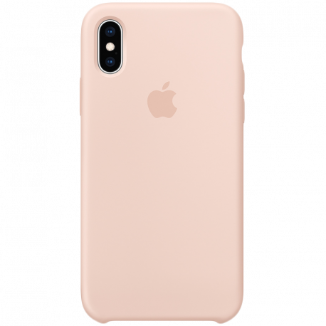 iPhone XS Silicone Case - Pink Sand Model