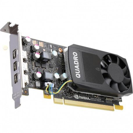 PNY NVIDIA Video Card Quadro P400 GDDR5 2GB/64bit 256 CUDA Cores PCI-E 3.0 x16 3xminiDP