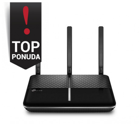 TP-Link AC2300 Dual-Band Wi-Fi Router1.8GHz dual-core CPU802.11ac/a/b/g/n1624Mbps at 5GHz + 600Mbps at 2.4GHz5 Gigabit Ports1