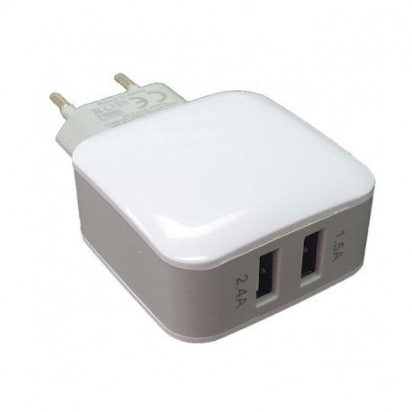Punjač Dual USB Quick Wall Charger 2.4A