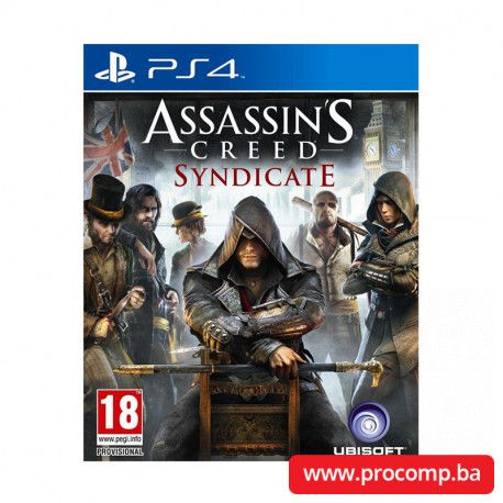 PS4 game Assassin's Creed: Syndicate