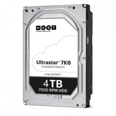 Western Digital Ultrastar DC HDD Server 7K6 (3.5'' 4TB 256MB 7200 RPM SATA 6Gb/s 512E