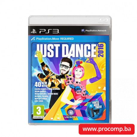 PS3 game Just Dance 2016