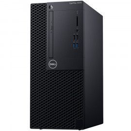 Dell OptiPlex 3070 MT Core i3-9100 4GB 1TB Intel UHD 630 DVD RW No Wifi