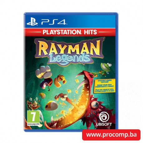 PS4 game Rayman Legends HITS