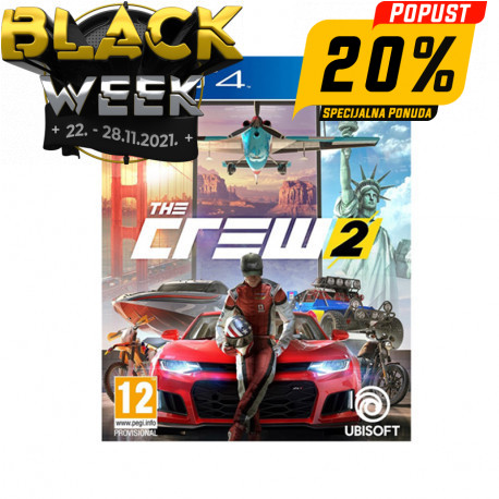 PS4 game The Crew 2 Standard Edition