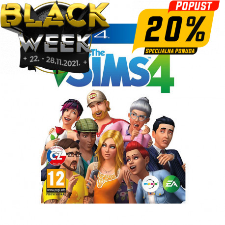 PS4 game The Sims 4