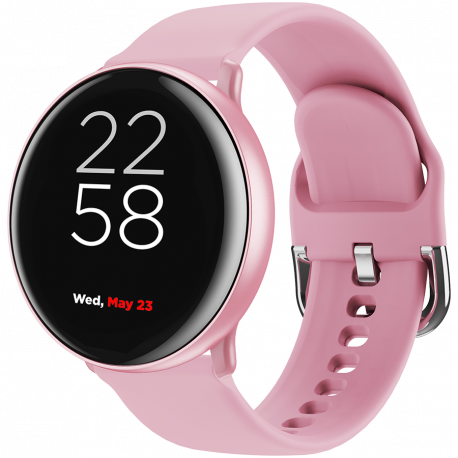 Smart watch 1.22inches IPS full touch screen aluminium+plastic bodyIP68 waterproof multi-sport mode with swimming mode